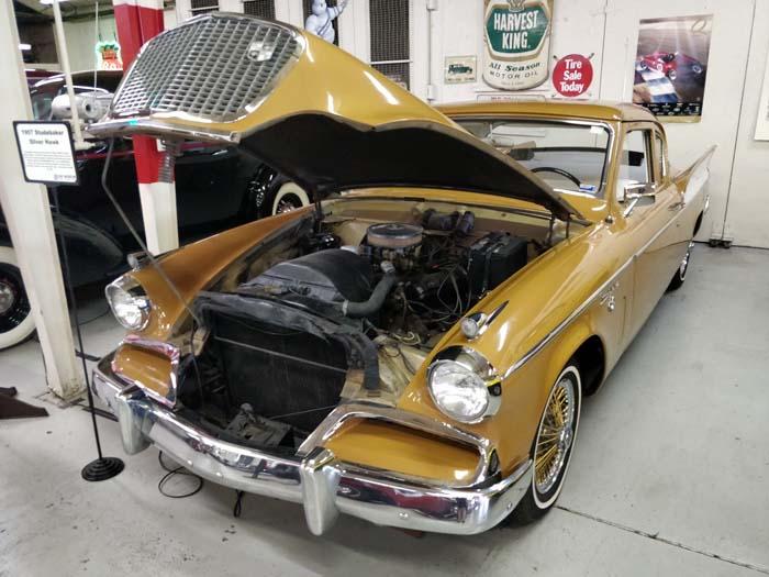 Route 66 Car Museum - Studebaker Silver Hawk