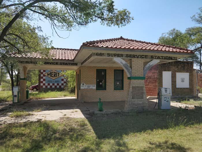 66 Super Service Station, Alanreed, TX #1