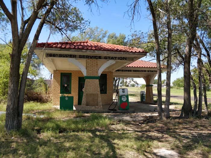 66 Super Service Station, Alanreed, TX #2