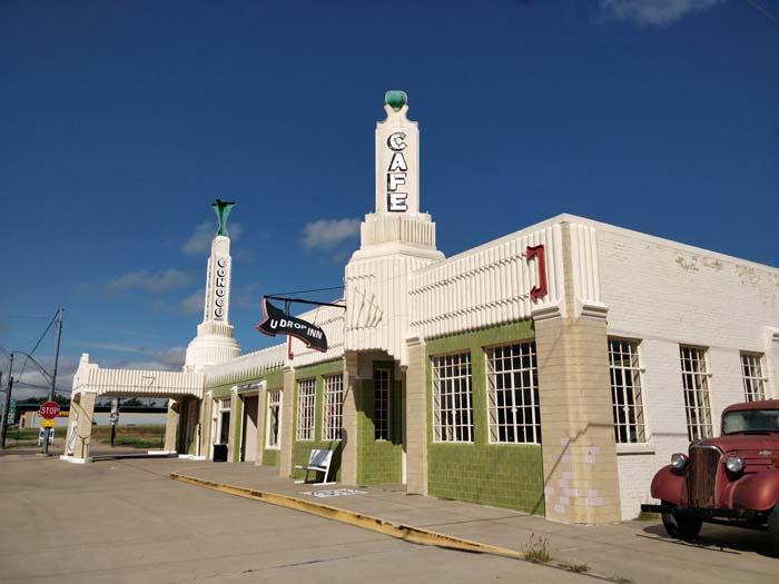 Conoco Tower Station & U-Drop Inn, Shamrock, TX #1