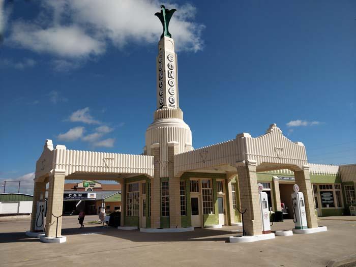 Conoco Tower Station & U-Drop Inn, Shamrock, TX #2