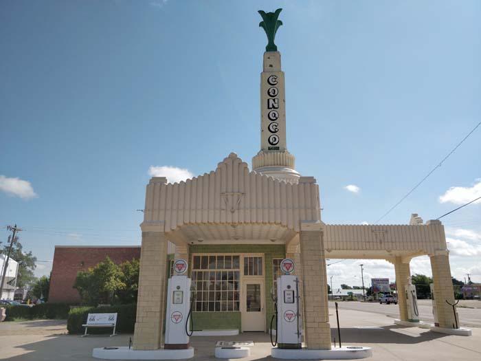 Conoco Tower Station & U-Drop Inn, Shamrock, TX #4