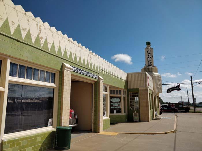 Conoco Tower Station & U-Drop Inn, Shamrock, TX #5
