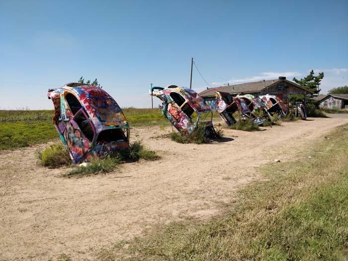 VW Slug Bug Ranch, Panhandle, TX #1