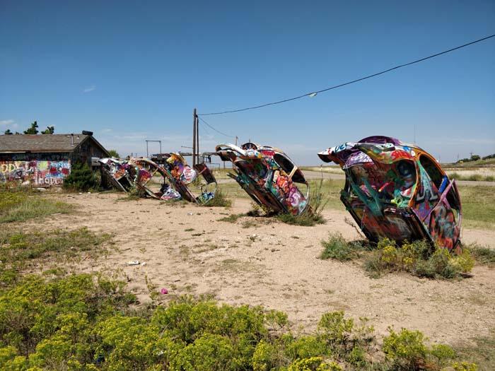 VW Slug Bug Ranch, Panhandle, TX #3