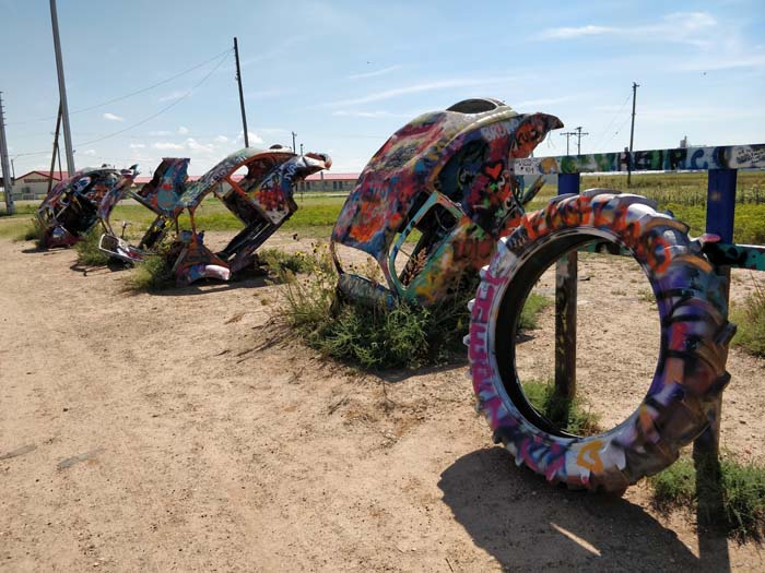 VW Slug Bug Ranch, Panhandle, TX #4
