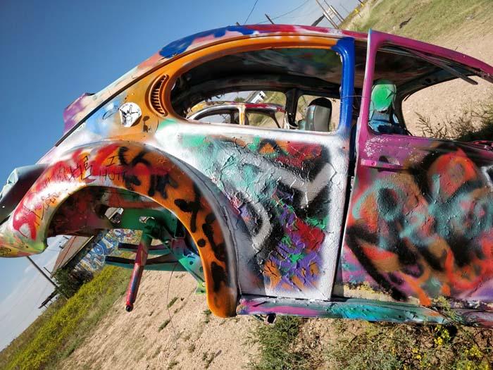 VW Slug Bug Ranch, Panhandle, TX #5