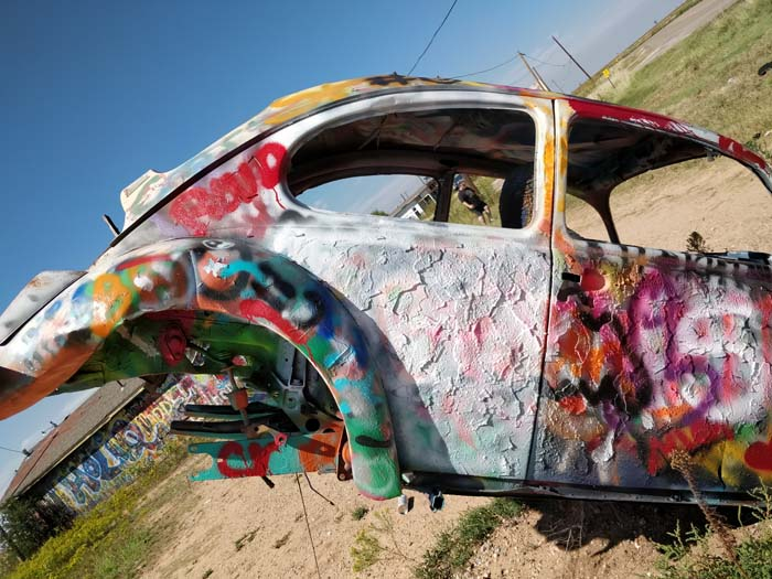 VW Slug Bug Ranch, Panhandle, TX #6