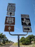 Roadside sign, Alanreed, TX