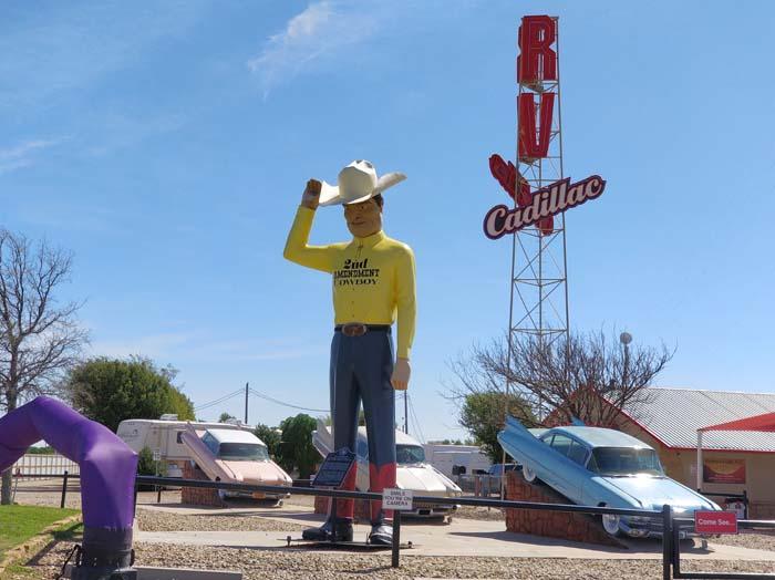 Cadillac Ranch Gift Shop