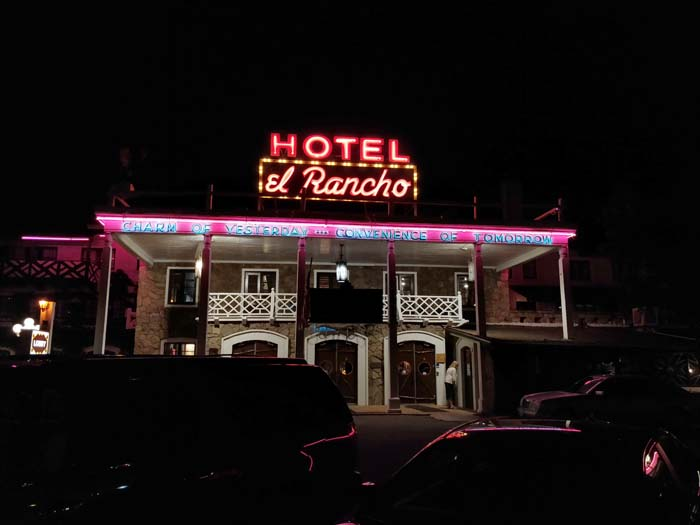 El Rancho at night #1