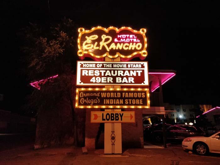 El Rancho at night #2