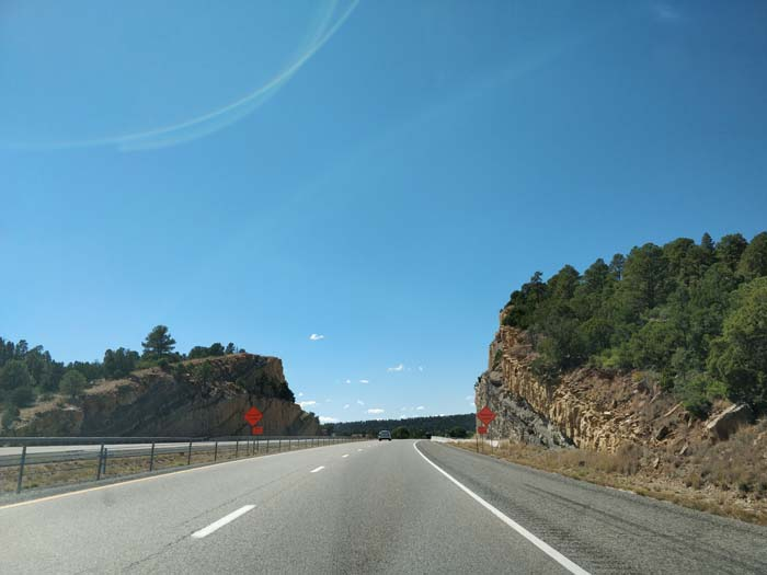 I-25 S, south of Las Vegas, NM