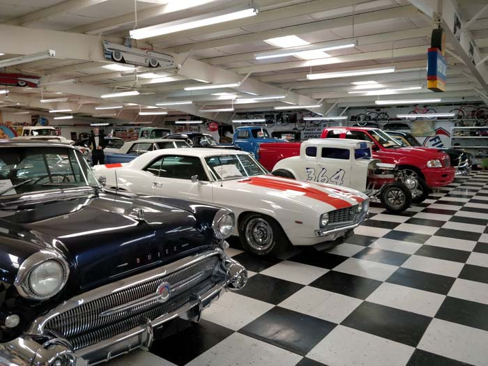 Inside the Route 66 Auto Museum #1