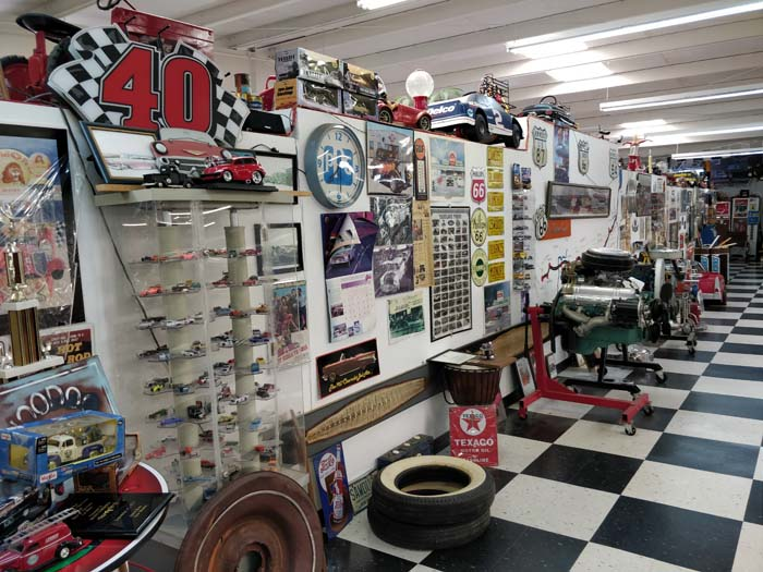 Inside the Route 66 Auto Museum #2