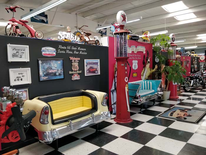 Inside the Route 66 Auto Museum #3