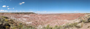 Painted Desert panorama #