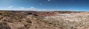 Painted Desert panorama #2