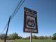 Road sign south of Albuquerque