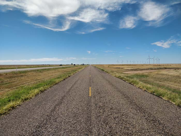 Route 66, Adrian, TX