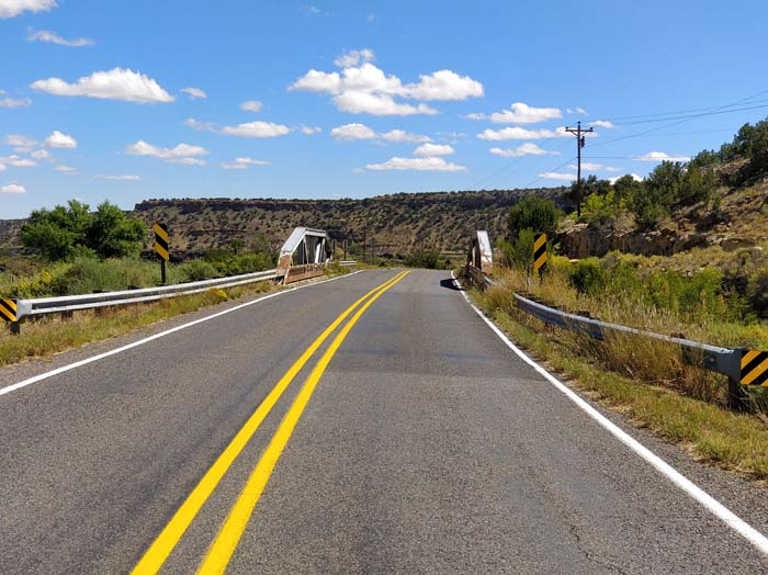 Route 66, just south of Grants, NM