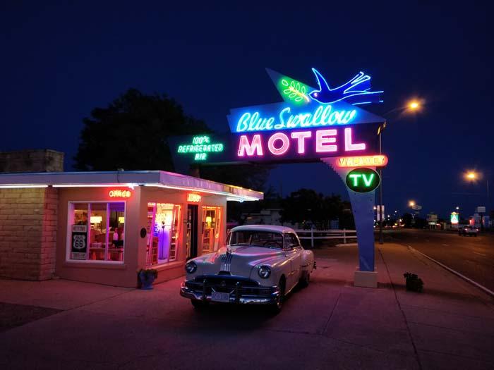 Tucumcari at night #1