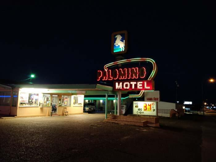 Tucumcari at night #12
