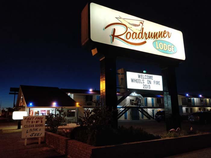Tucumcari at night #13