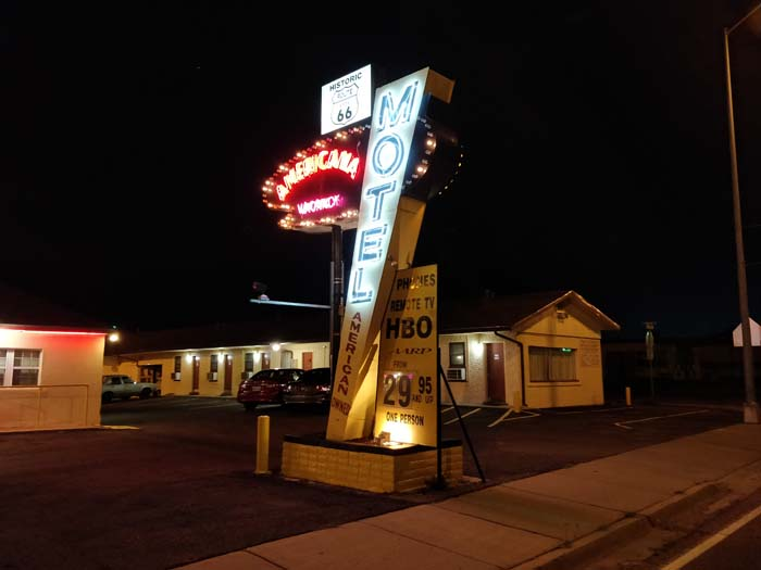 Tucumcari at night #15