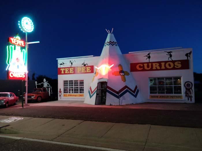 Tucumcari at night #4