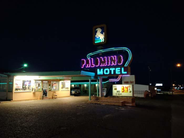 Tucumcari at night #7