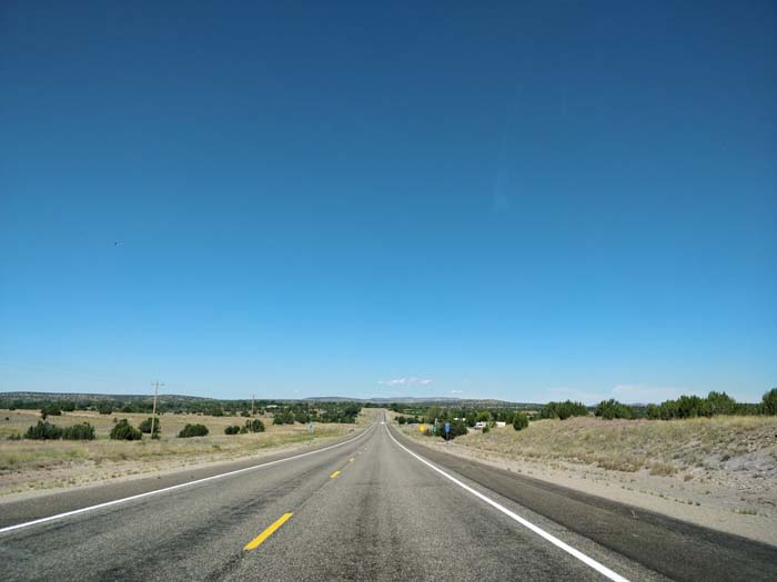 US 84 N, south of Dilia, NM