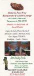 Pow Wow Lounge leaflet