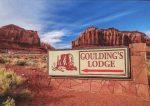 Goulding's Lodge Postcard