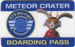 Meteor Crater Entry Pass