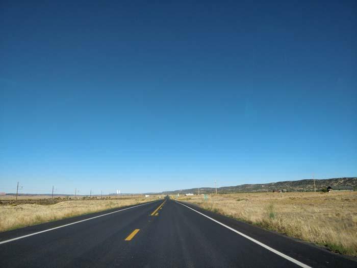 US-160 E, south of Shonto, AZ