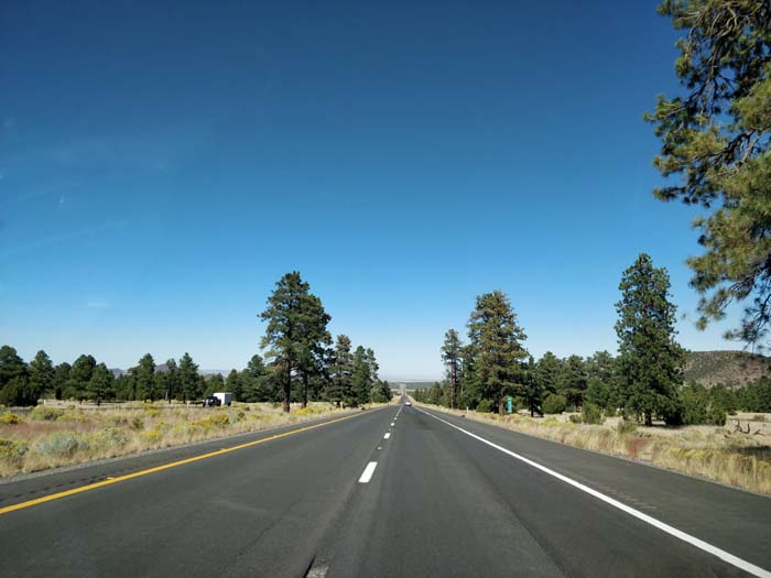 US-89 N, west of Sunset Crater
