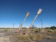 Twin Arrows, near Flagstaff, AZ