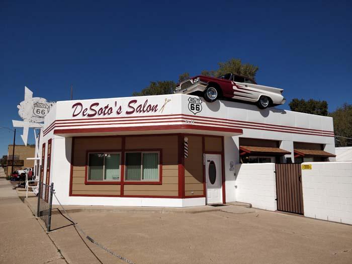 DeSoto's Salon, Ash Fork, AZ