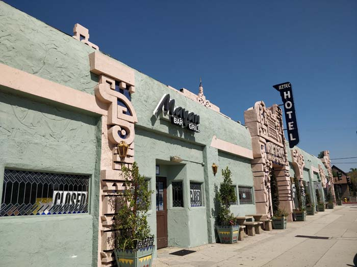 Aztec Hotel, Monrovia, LA #1