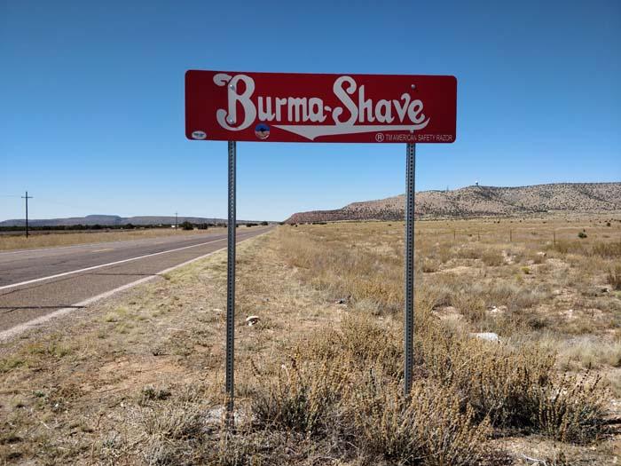 Burma Shave #5