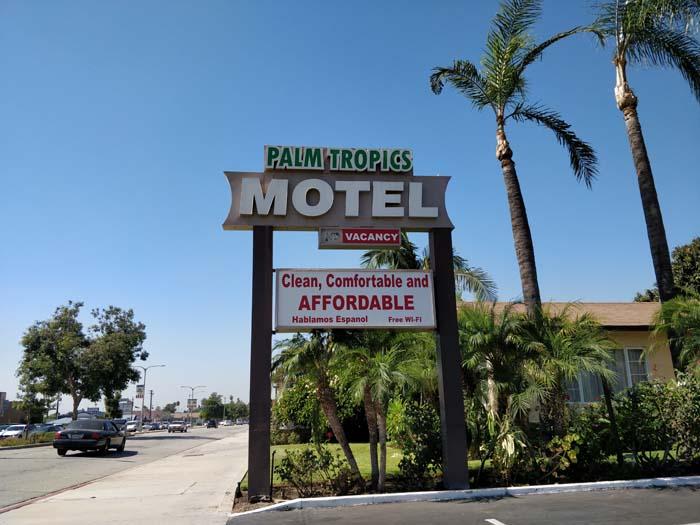 Motel in Glendora, LA