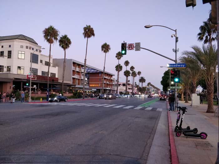 Ocean Avenue, Santa Monica