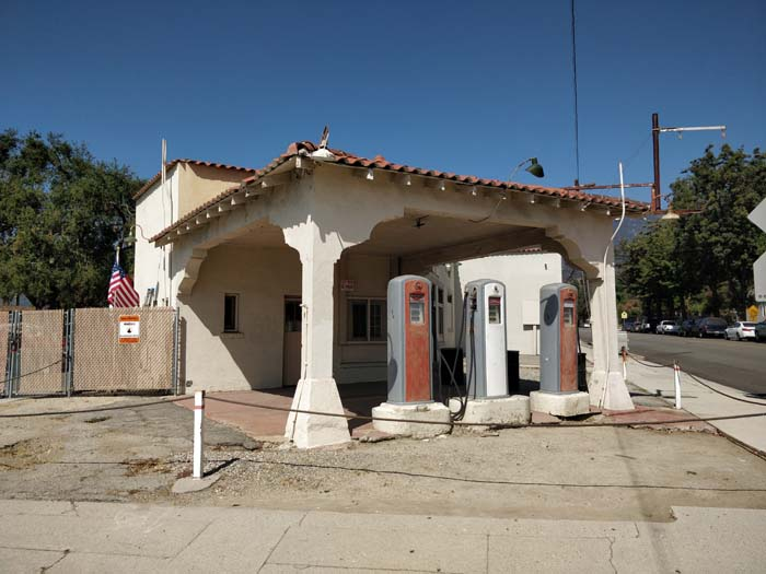 Old gas station, Monrovia #2
