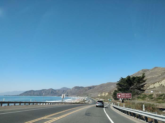 Pacific Coast Highway, north of Ventura, CA