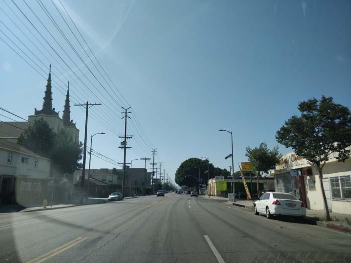 Route 66, Santa Monica Boulevard, LA