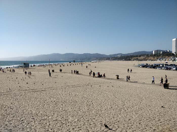 Santa Monica Beach #1