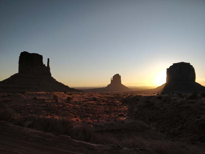 Sunrise at the Buttes #10