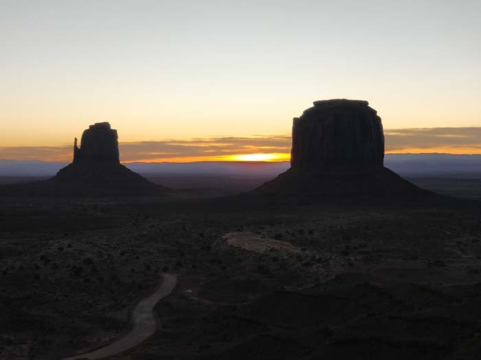 Sunrise at the Buttes #2