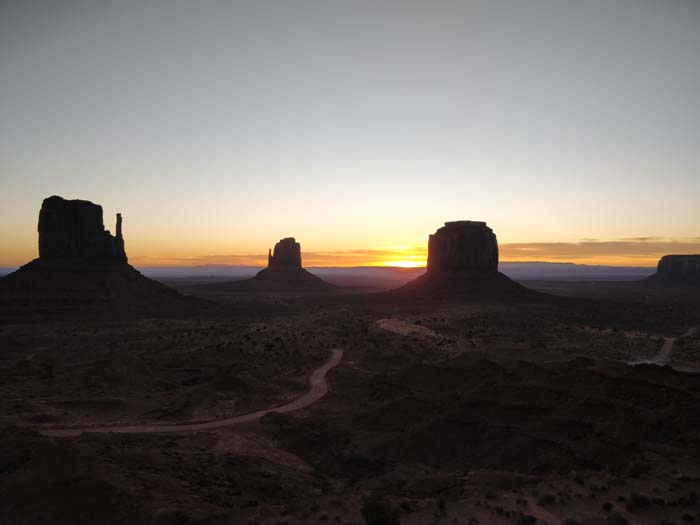 Sunrise at the Buttes #4